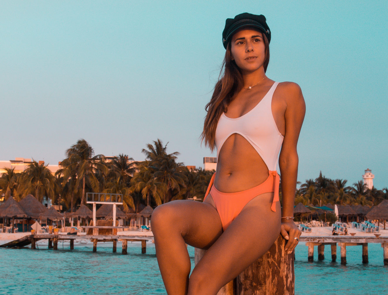 Flor Gaona, Isla Mujeres, Bikini, Traje de Baño, México, Body, Beach, Argentina, Two Piece, Travel, Instagram