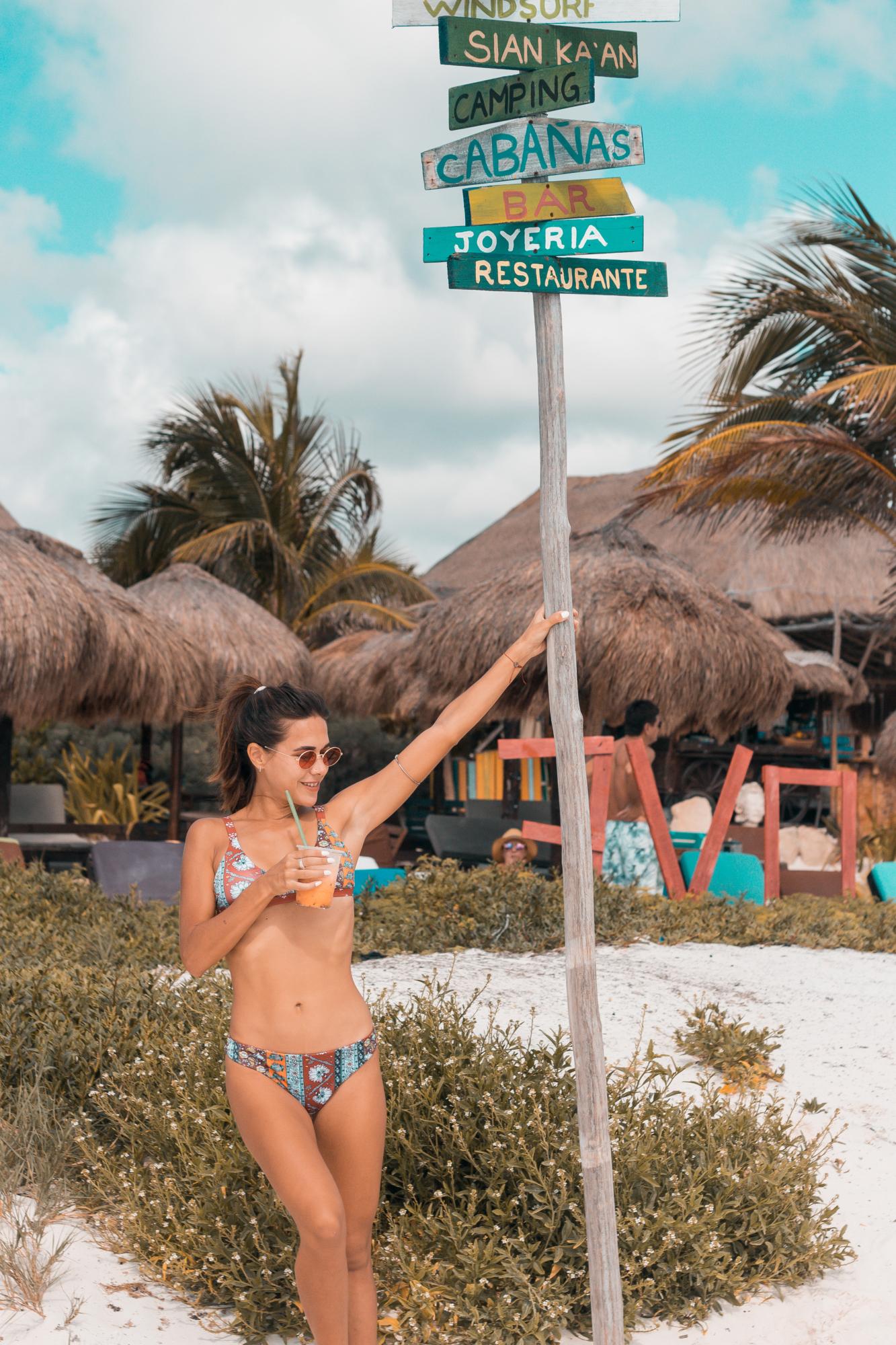 Zaful, Flor Gaona, Tulum, México, Playa del Carmen, Bikini, Traje de baño,
