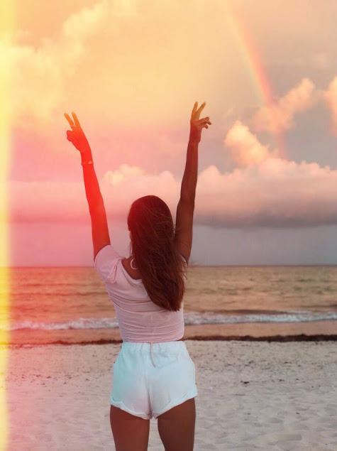 wellness, bienestar, flor gaona, influencer, playa del carmen, cambio de vida, fitness, playa, beach, lifestyle, healthy