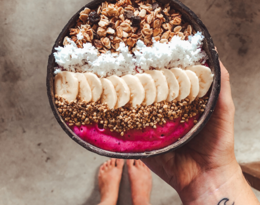 smoothie bowl receta