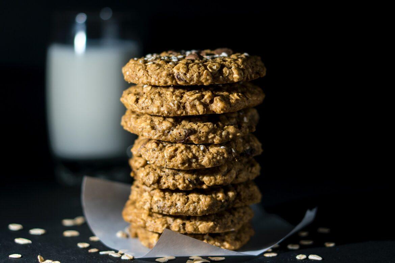 Cookies de cacao y avena #fluffy